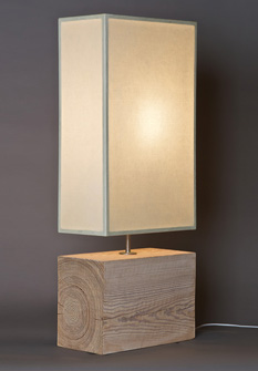 100-Year-Old Douglas Fir, a table lamp