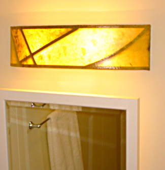 Sconce(s) in Smithson�s Bathroom
