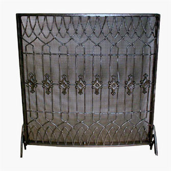 English Fireplace Screen