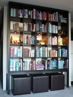 IKEA Hack = Seena's Bookshelves